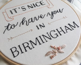 PDF Pattern: It's nice to have you in Birmingham