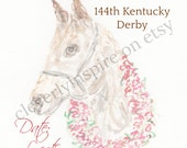Horse with Roses, Kentuck...