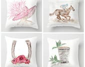 Set of 4 Derby Pillows, 1...