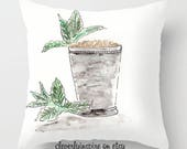 Mint Julep Pillow, Cockta...