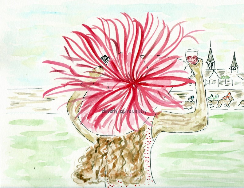 REPRINT: Pay the Lady Pink Kentucky Derby image 0