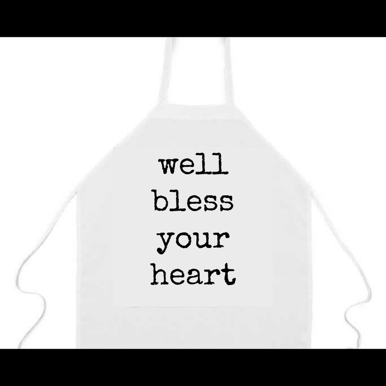 Apron: Bless your heart Kentucky Derby Kentucky southern image 0