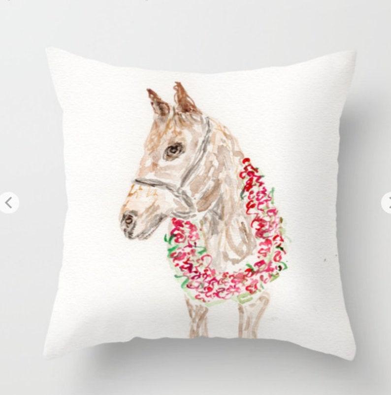 Derby HorsePillow RosesDerby Kentucky Churchill Downs image 0