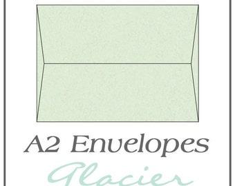 A2 Envelopes - Glacier