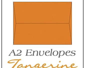 A2 Envelopes - Tangerine