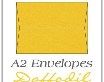A2 Envelopes - Daffodil