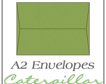 A2 Envelopes - Caterpillar