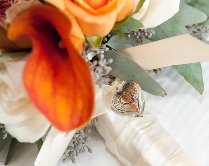 Vintage Wedding Brides Bouquet Locket