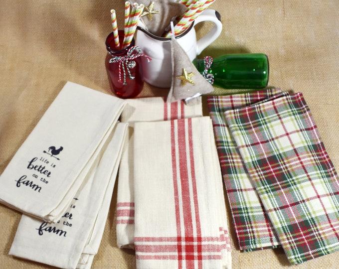 Farmhouse Style Cotton Napkins