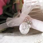 Angel Bouquet Locket, Brides Guardian Angel, Wedding Charm, Bouquet charm, Etsy Wedding-AA104