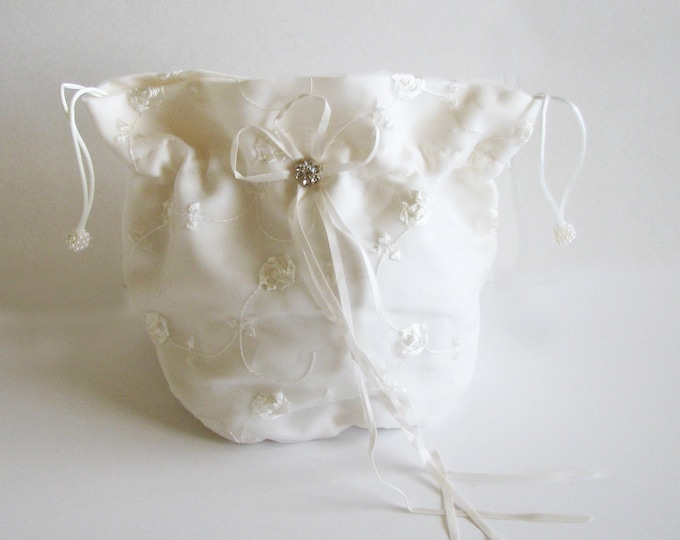 Brides Drawstring Bag, Ballet Shoe Bag