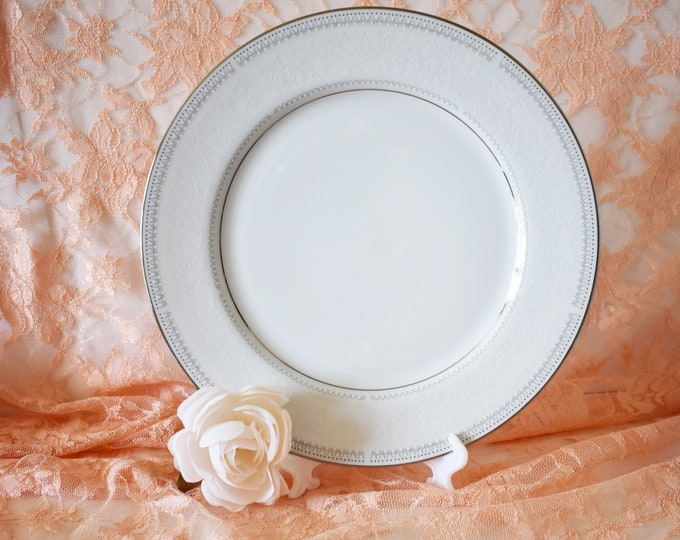 Fine China Japan Bread or Cake Plate Trousseau 2819 Pattern Replacement