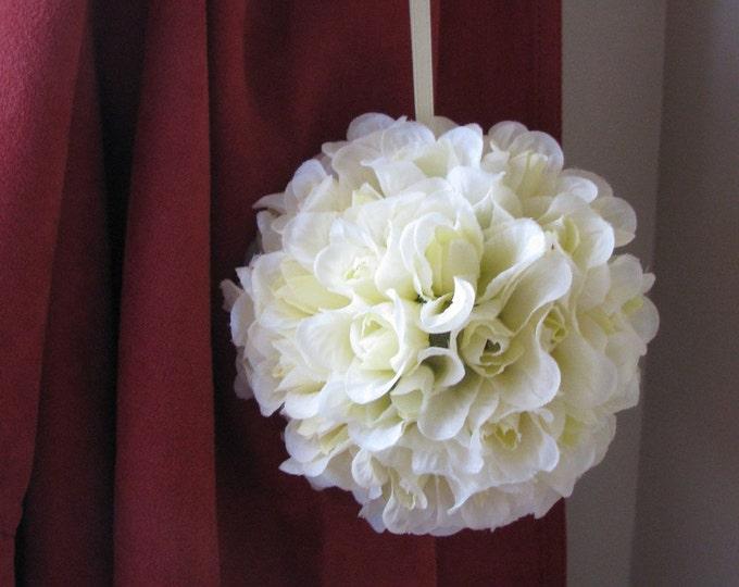 Yellow Rose Topiary Ball
