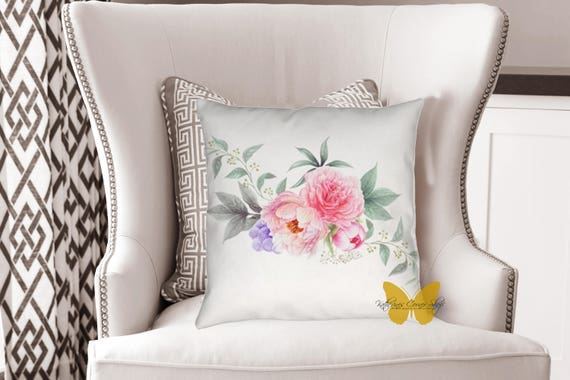 Blooms and Vines Pillow