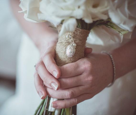 Brides Vintage Bouquet locket