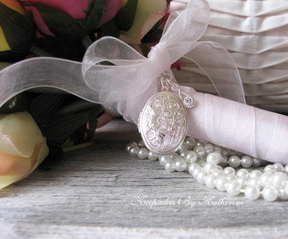 Brides Bouquet Locket Happy Tears Bouquet Locket