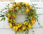 Lemon To Lemon Wreath