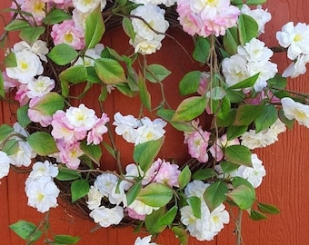 Cherry Blossoms.....Spring Blossoms Wreath....Cherry Blossoms Wreath Spring Door Wreath