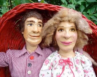 Summer Apples -- Handmade Doll Decoration