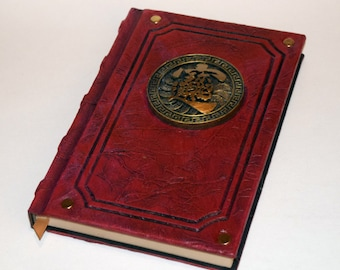 Ancient Tome Book of Riches and Wealth Larp Cosplay Druid wiccan Grimoire