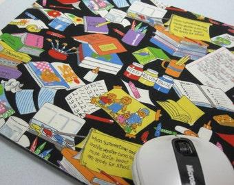Mouse Pad, Computer Mouse Pad, Fabric Mousepad    Berenstain Bears - Homework Bears