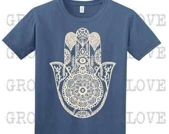 4a1d42da Hamsa Mandala Design Instant Download for Electronic Cutters silhouette  cricut vinyl digital decal hippie boho chic t shirt heat transfer