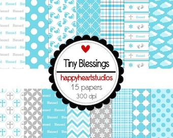 Digital Scrapbook  TinyBlessings -INSTANT DOWNLOAD