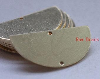 18pcs Oxidized Silver Tone Base Metal Waved Disks-16x2mm 1046X-B-178A