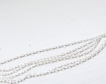 3 Feet Matte Black Plated Brass Base Chains-Box 2mm 418C07