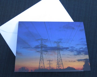 Original Photography Blank note cards , pack of 4