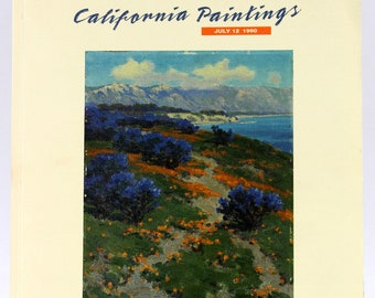 California Paintings Auction Catalog, Butterfield & Butterfield, July 12, 1990 (22379)