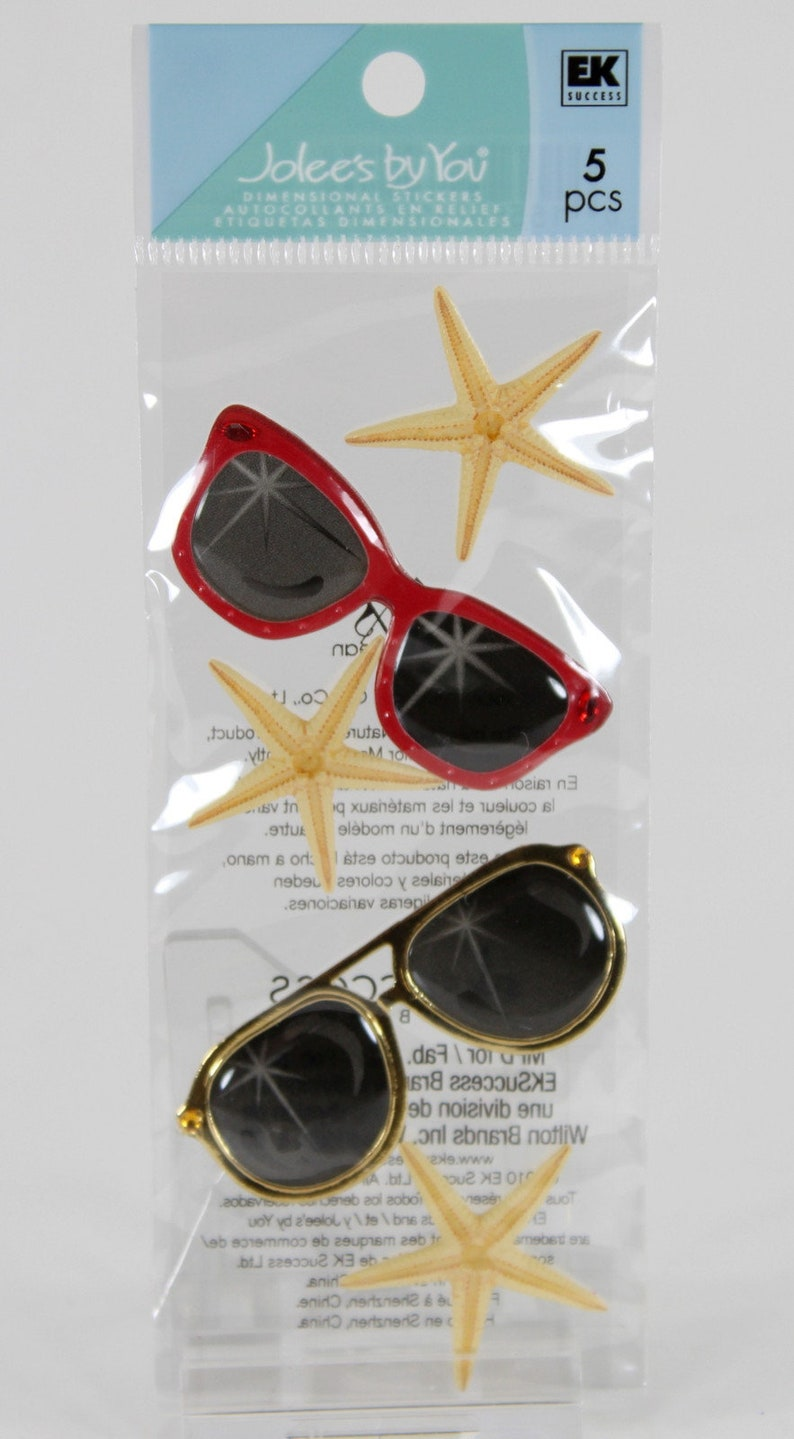 "Starfish Ocean Sea Creature Beach 2/"" Scrapbooking Crafting Stickers"