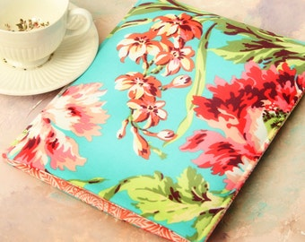 Kindle Sleeve, Kindle case, Nook Sleeve, Nook Case in Hawaiian Flowers - Gadget Cases and Covers