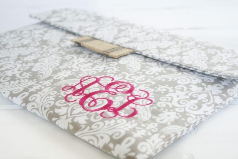 Monogram Kindle Case Kindle Paperwhite Case Personalized image 0
