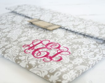 """Monogrammed Mac Macbook 13"""" or 11"""" Case