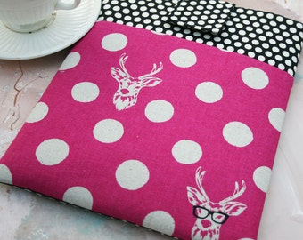 Kindle Paperwhite sleeve, Kindle Fire cover, Kindle Accessories, Deer Nook Case, Gadget Cases and Covers, Kindle Case in Nerd Alert