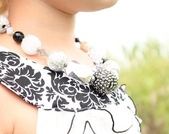 Flapper Bubblegum Necklace - One of a Kind by The Kisses Co. - Ready to Ship