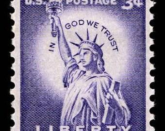 Five 5 Unused US Postage Stamps