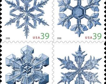 Four 4 Unused Postage Stamps