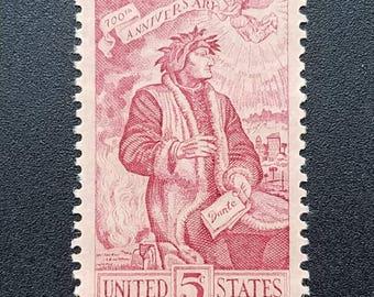 Ten 10 Vintage Postage Stamps