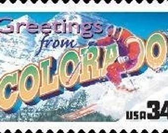 Five 5 Unused Postage Stamps