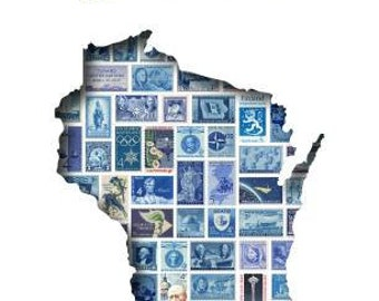 Postcards to Voters printable template: Blue Wisconsin