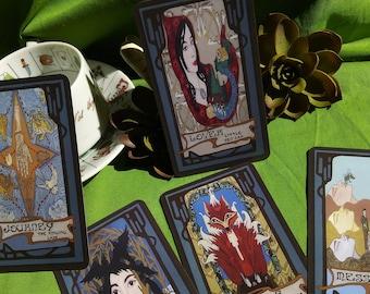 Handmade Brothers Grimm Tarot/ Oracle Deck