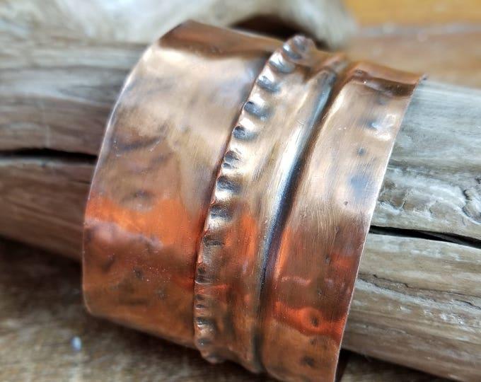 Artisan Copper Fold Formed Jewelry