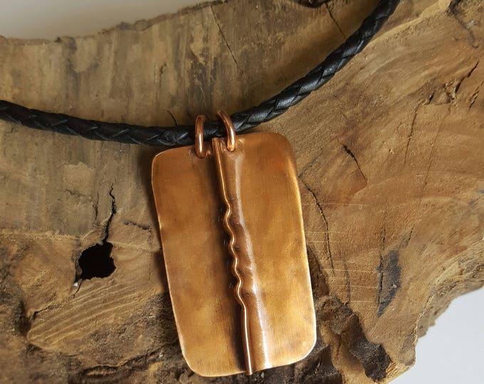Fold Form Men's Necklace