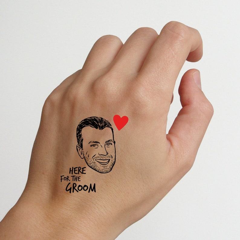Custom Bachelor party Tattoos image 0
