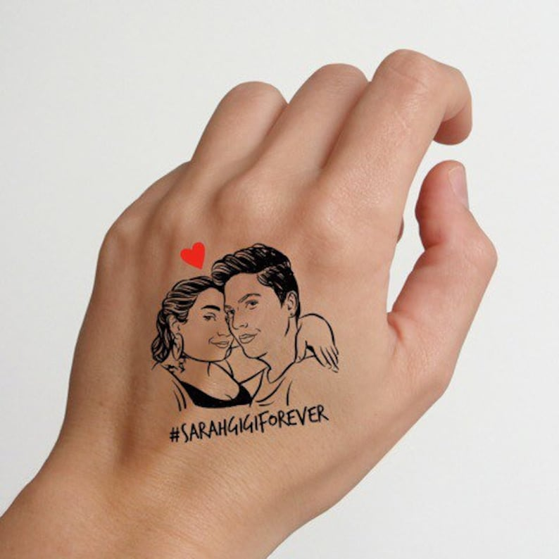 Personalized Tattoo favors for wedding guests image 0
