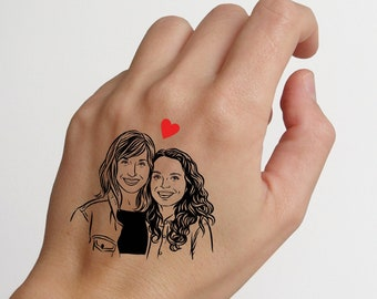Wedding tattoo favors for party guest Personalize gift