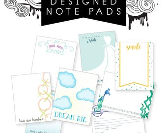 Custom Notepad, 4.25x5.5