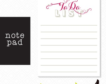 Note pad, Ta-Da Note Pad List